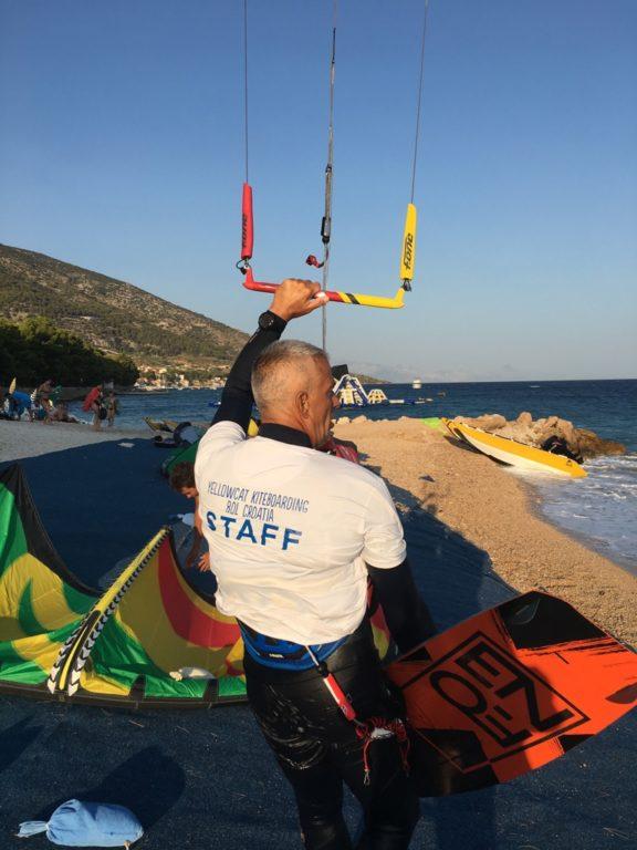 kiteboarding croatia